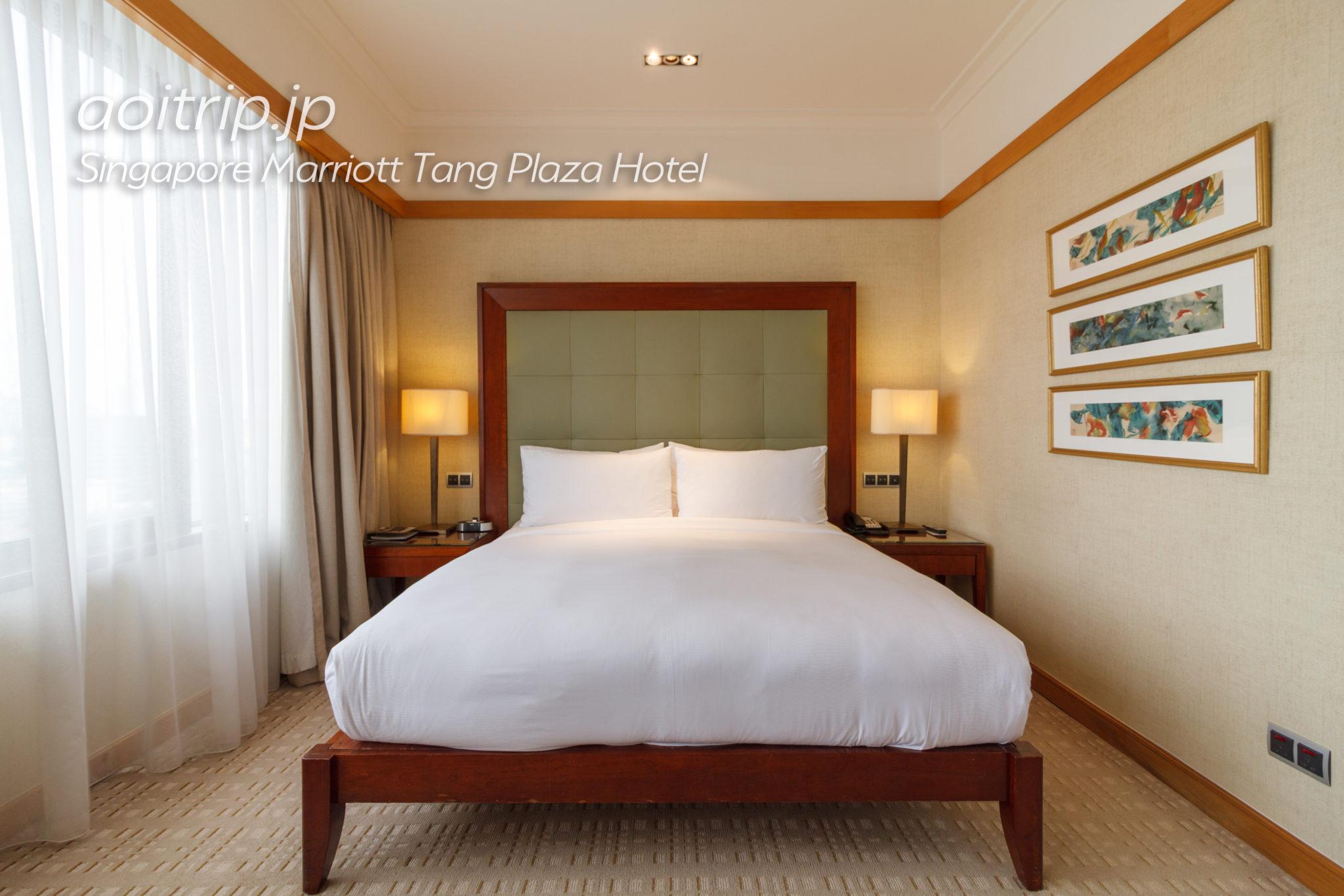 シンガポール マリオット タング プラザ ホテルのエグゼクティブルーム