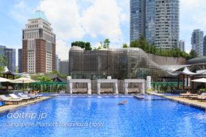 シンガポール マリオット タング プラザ ホテルのプール