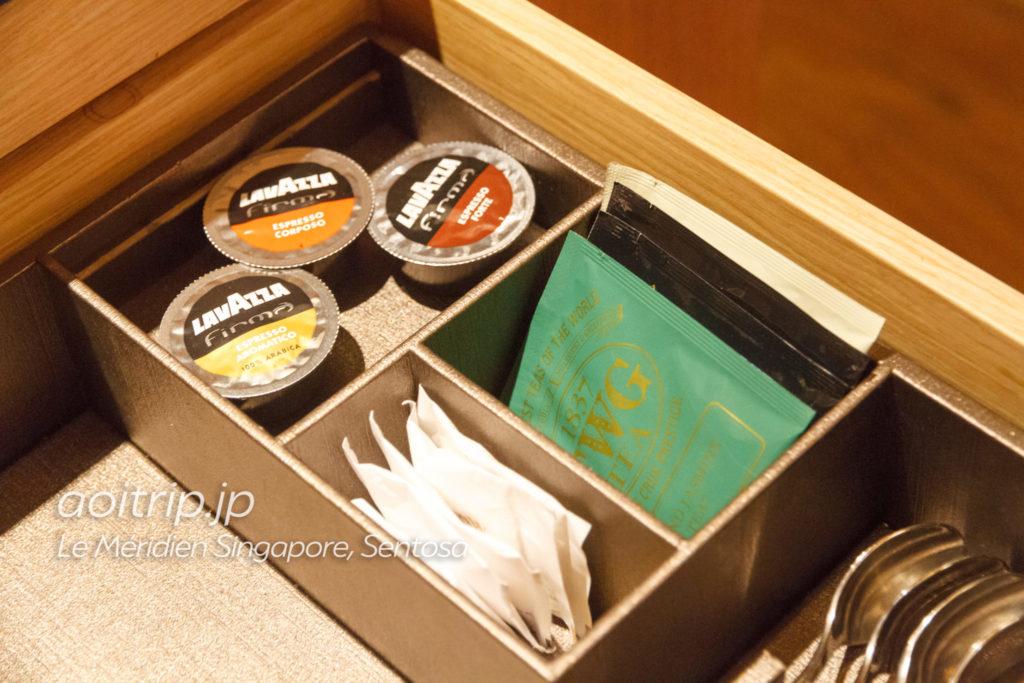 ル メリディアン シンガポール セントーサのコーヒー・お茶