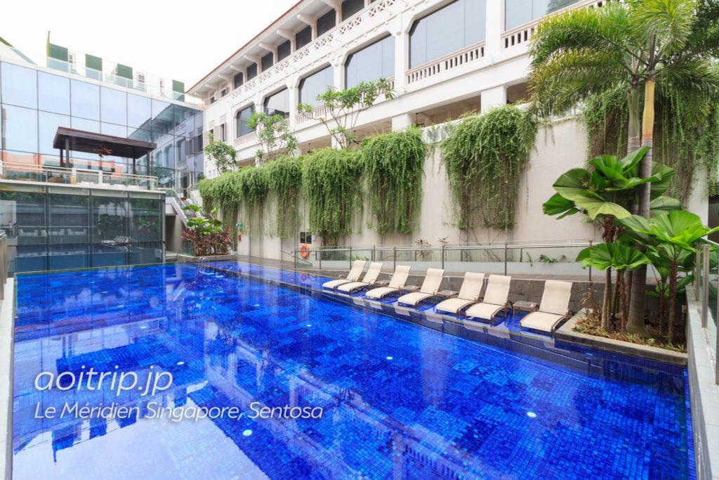 ル メリディアン シンガポール セントーサのプール