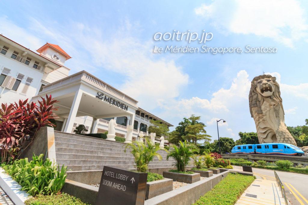 ル メリディアン シンガポール セントーサの外観