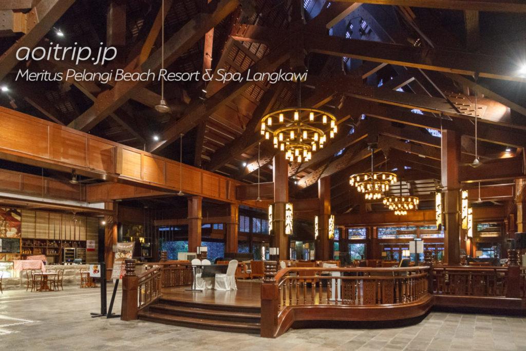 メリタスペランギリゾートランカウイのホテルロビー
