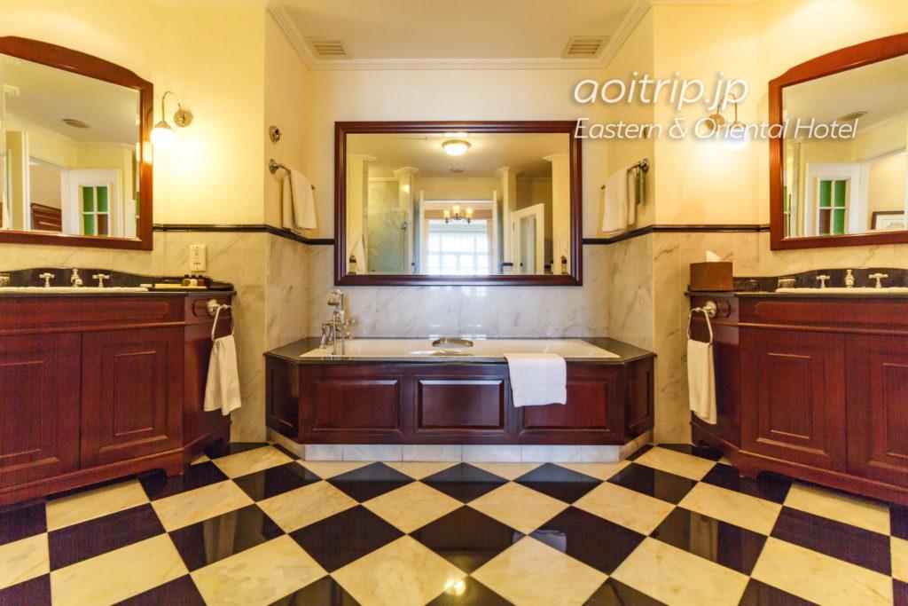 イースタンオリエンタルホテルのバスルーム