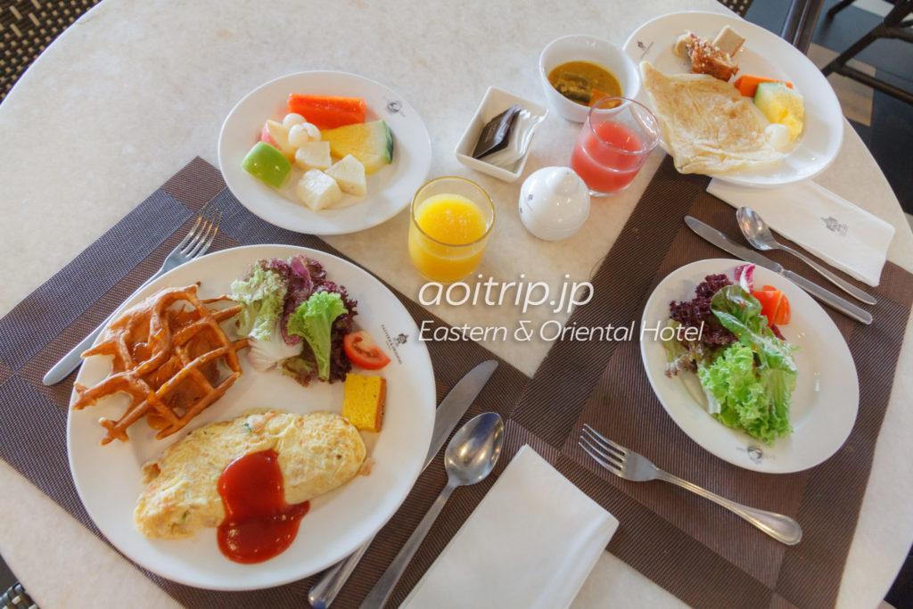 イースタン アンド オリエンタルホテルの朝食