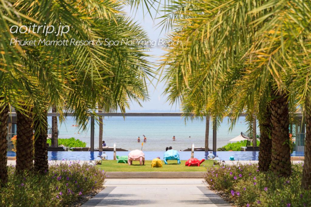 プーケットマリオットリゾート&スパナイヤンビーチ