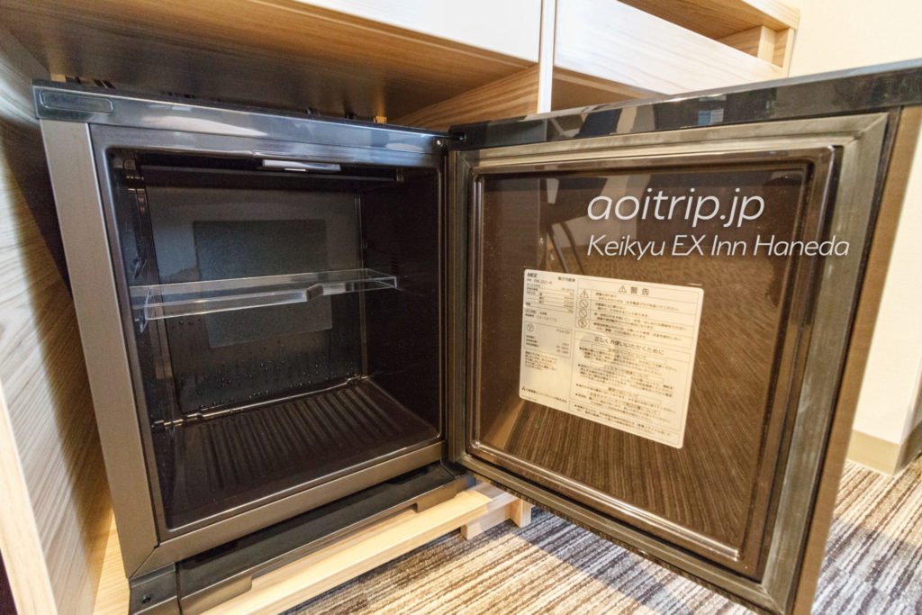 京急EXイン羽田の冷蔵庫