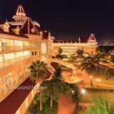 香港ディズニーランドホテルの夜景