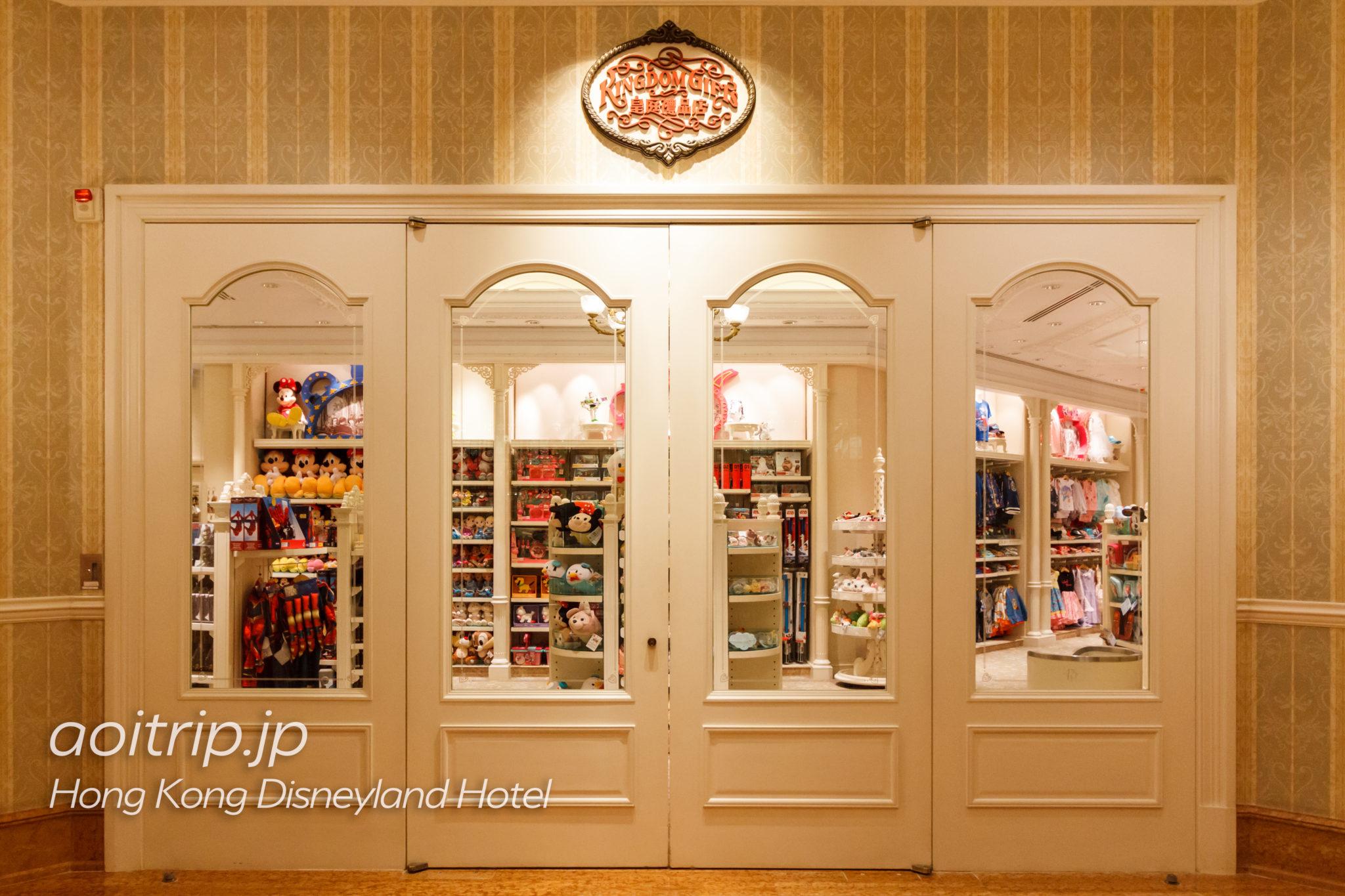 香港ディズニーランドホテルのお土産ショップ