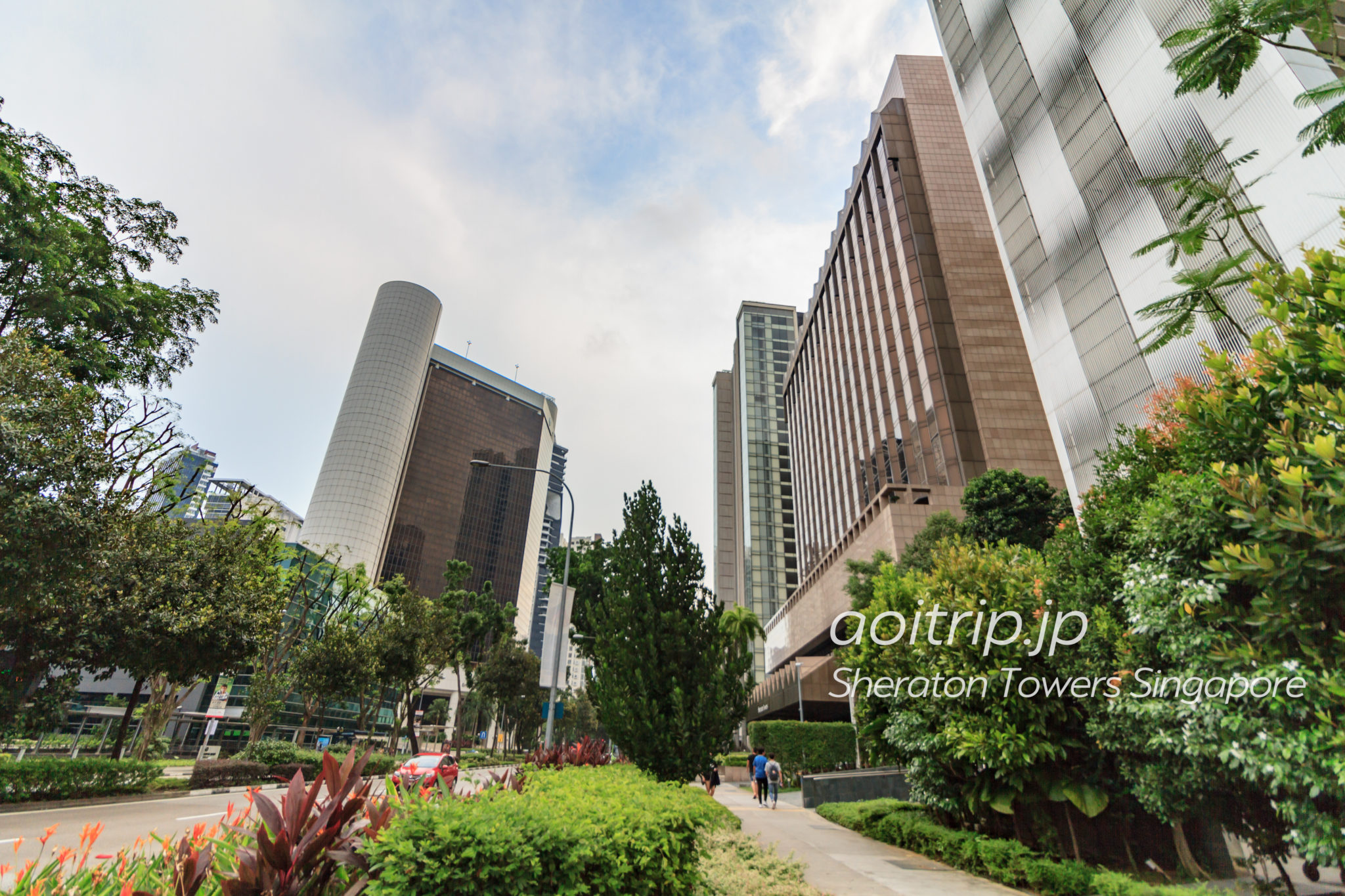 シェラトン タワーズ シンガポールのホテル外観