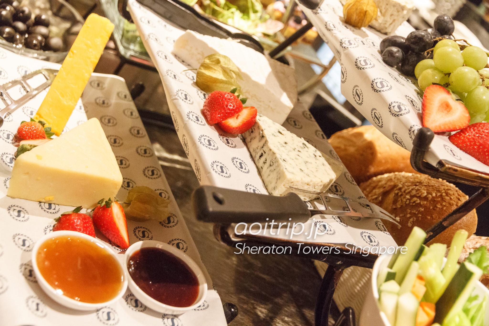 シェラトンタワーズシンガポール ラウンジの食事