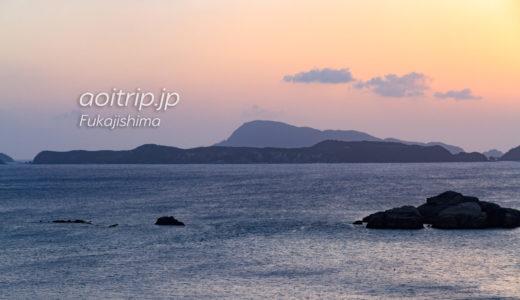 慶良間空港と外地島の展望台から望むケラマの島々