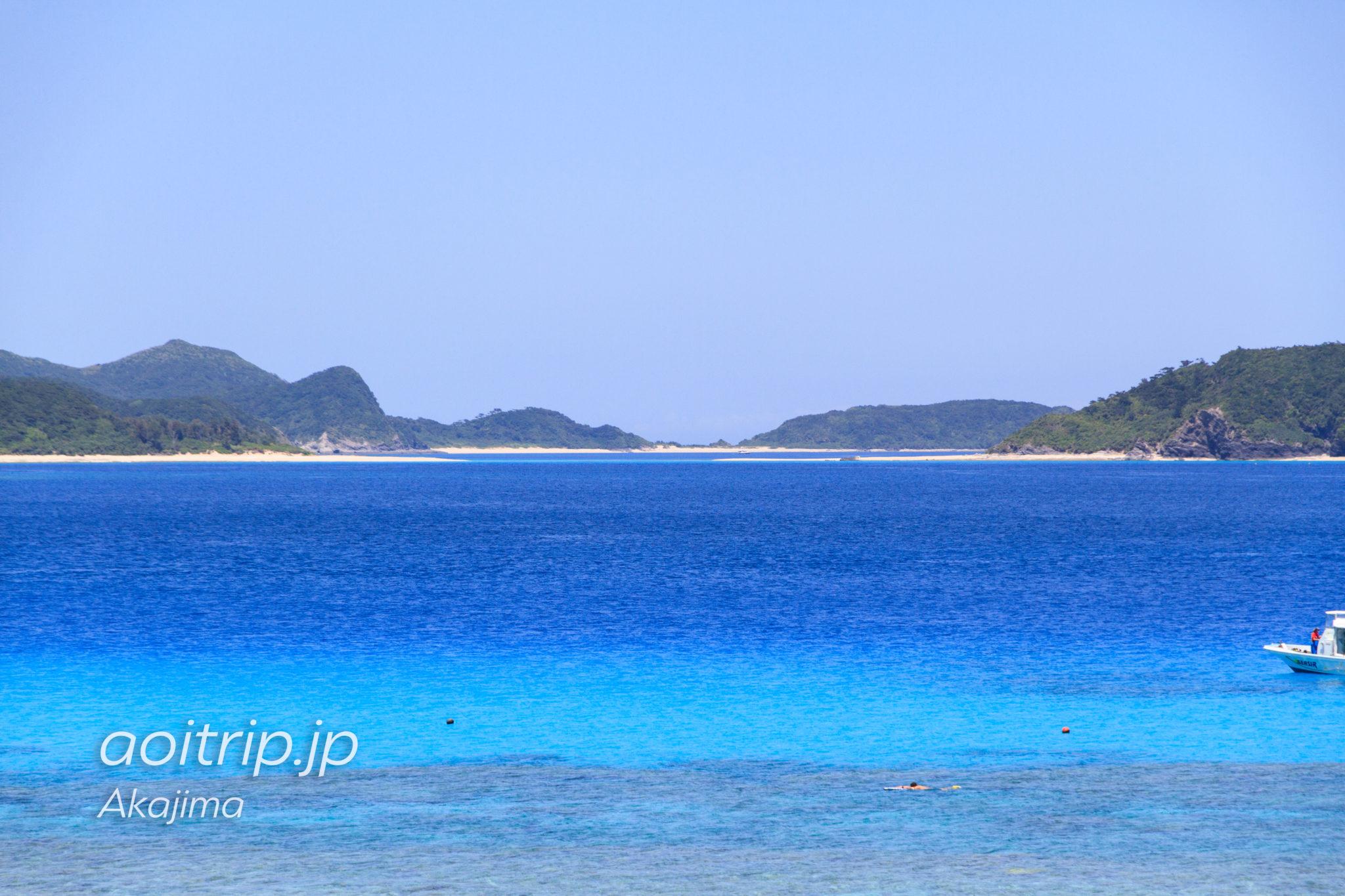 阿嘉島の北浜ビーチ