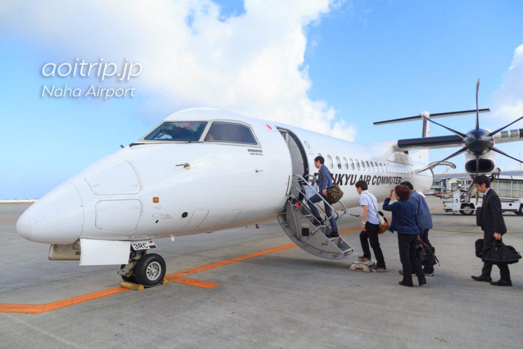 DHC8-Q400CCの座席配置図