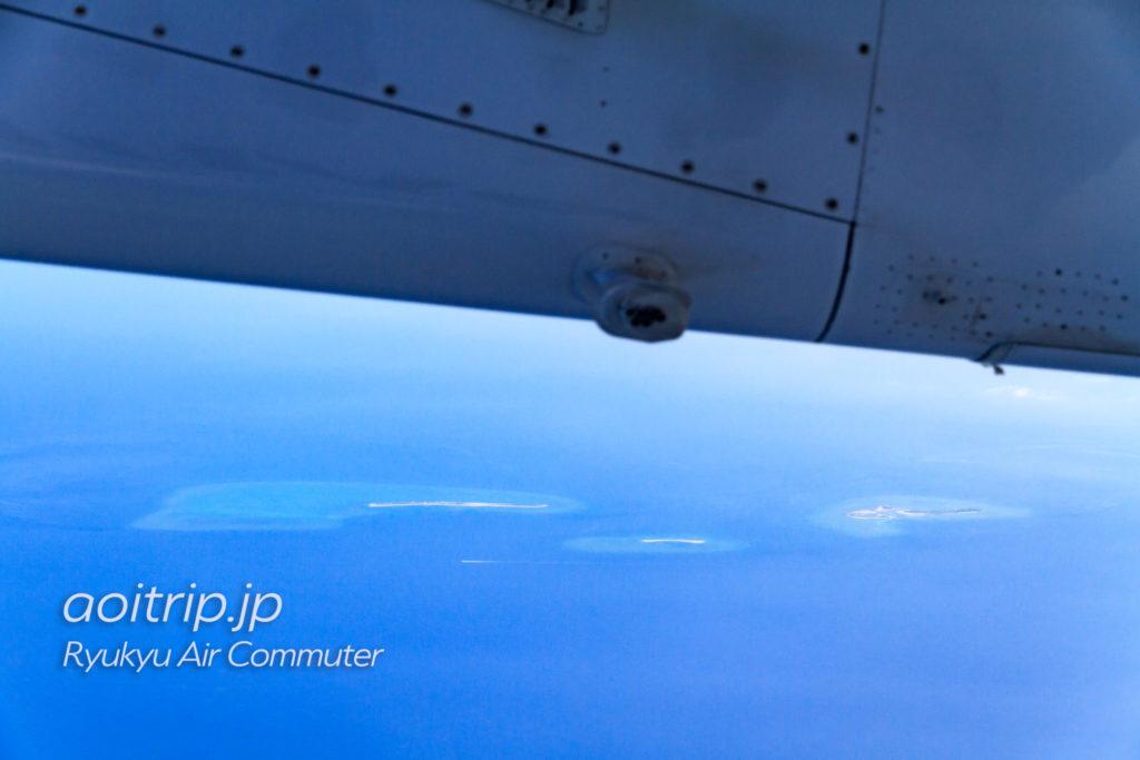 飛行機機内から見るチービシ