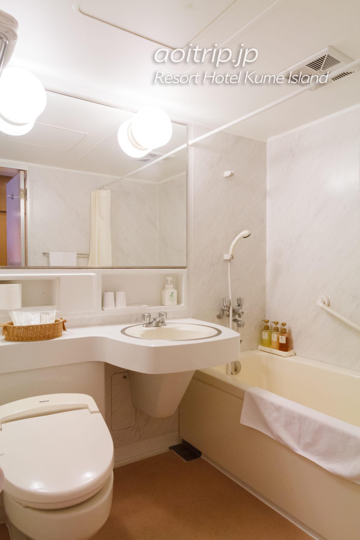 リゾートホテル久米アイランド バスルーム