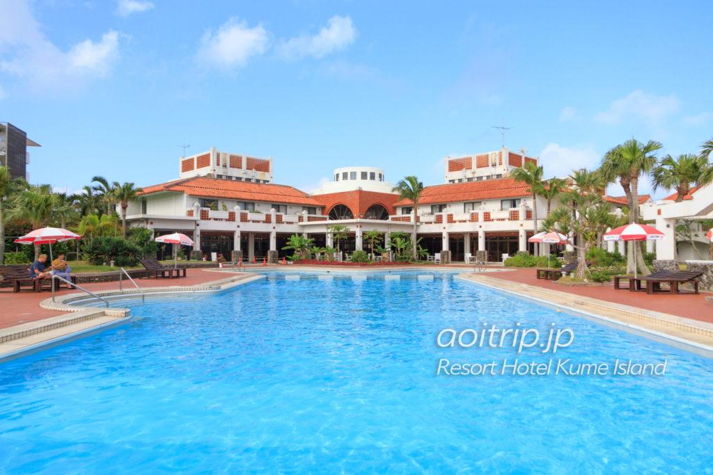 リゾートホテル久米アイランドのプール