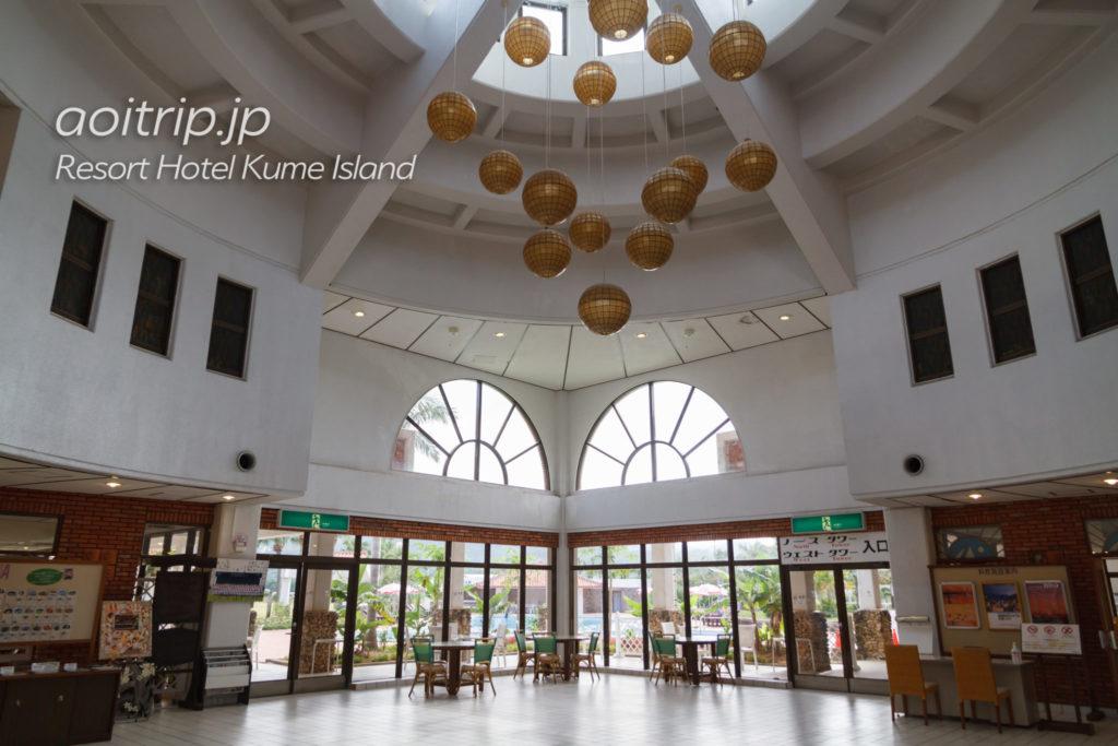 リゾートホテル久米アイランドのホテルロビー