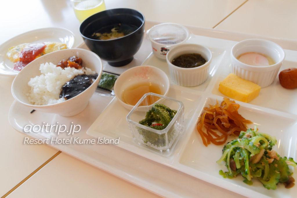 リゾートホテル久米アイランドの朝食