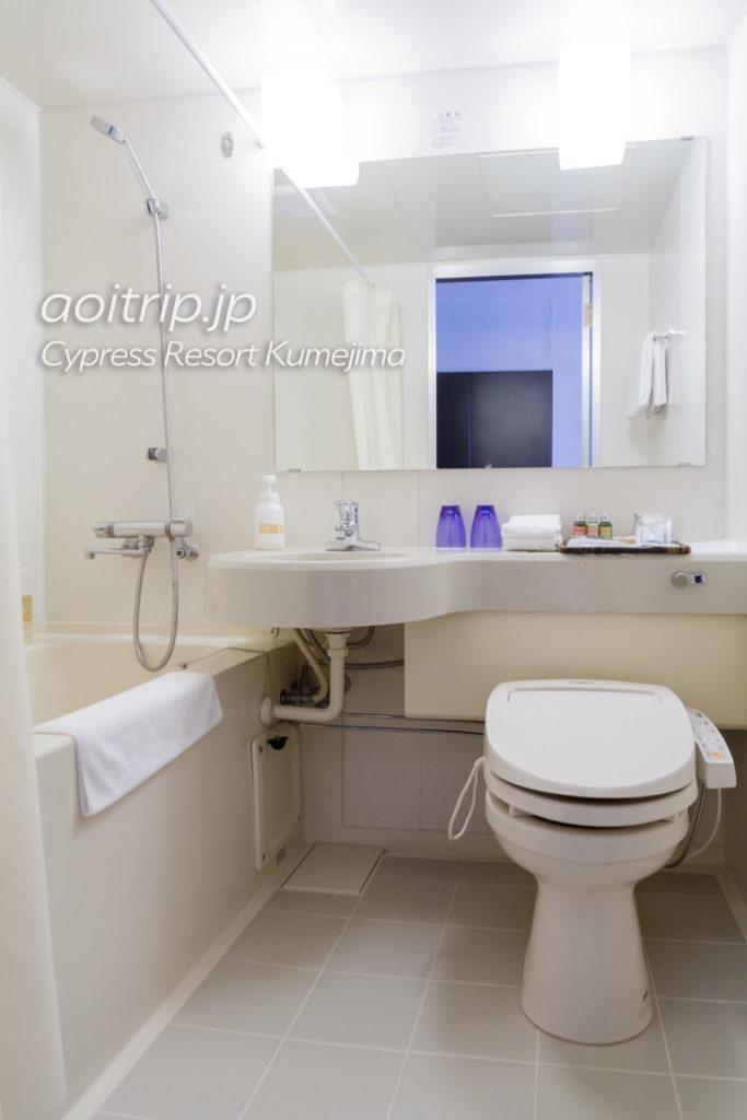 サイプレスリゾート久米島のバスルーム