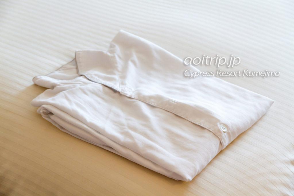 サイプレスリゾート久米島のパジャマ