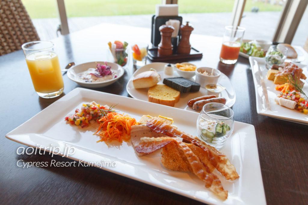 サイプレスリゾート久米島の朝食