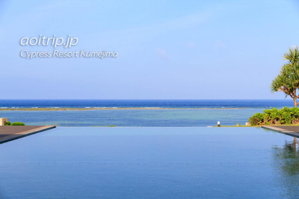 サイプレスリゾート久米島のインフィニティープール