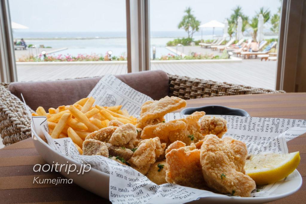 サイプレスリゾート久米島 久米島赤鶏のフライドチキン