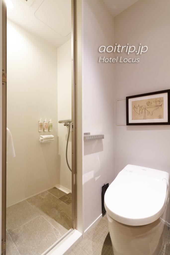 ホテルローカス宮古島のスーペリアツインのバスルーム