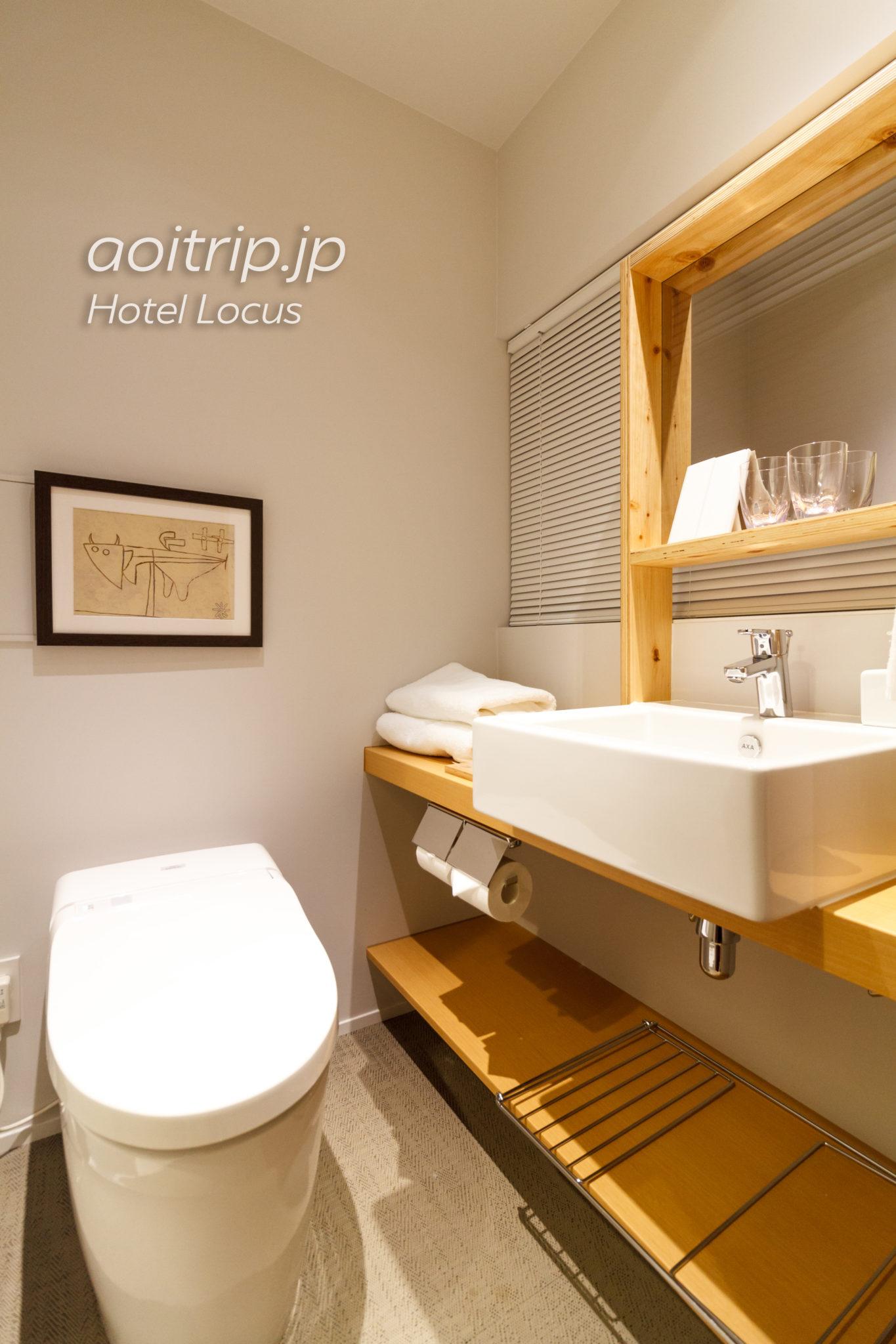 ホテルローカス宮古島のスーペリアツインの洗面室