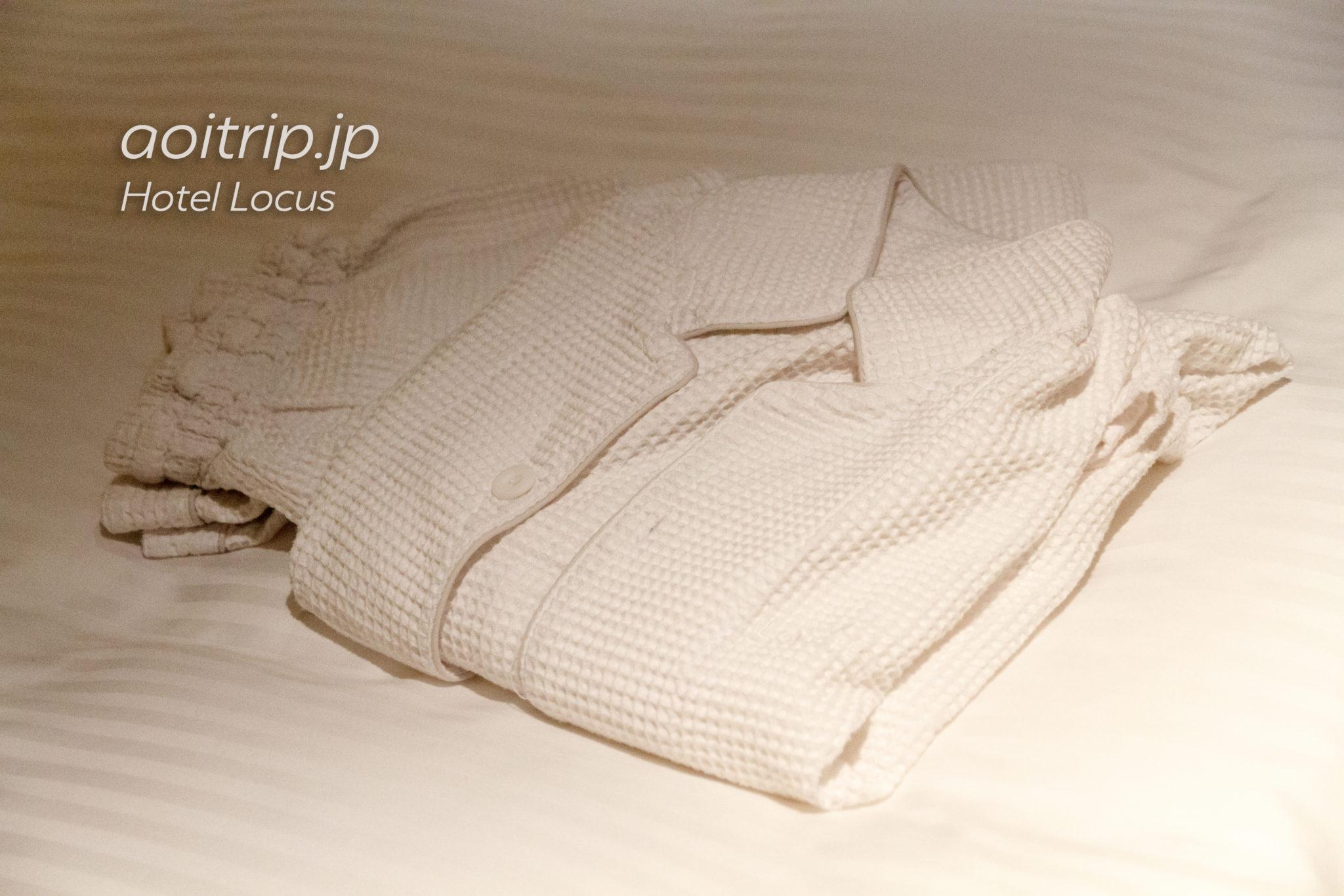 ホテルローカスのパジャマ(寝間着)