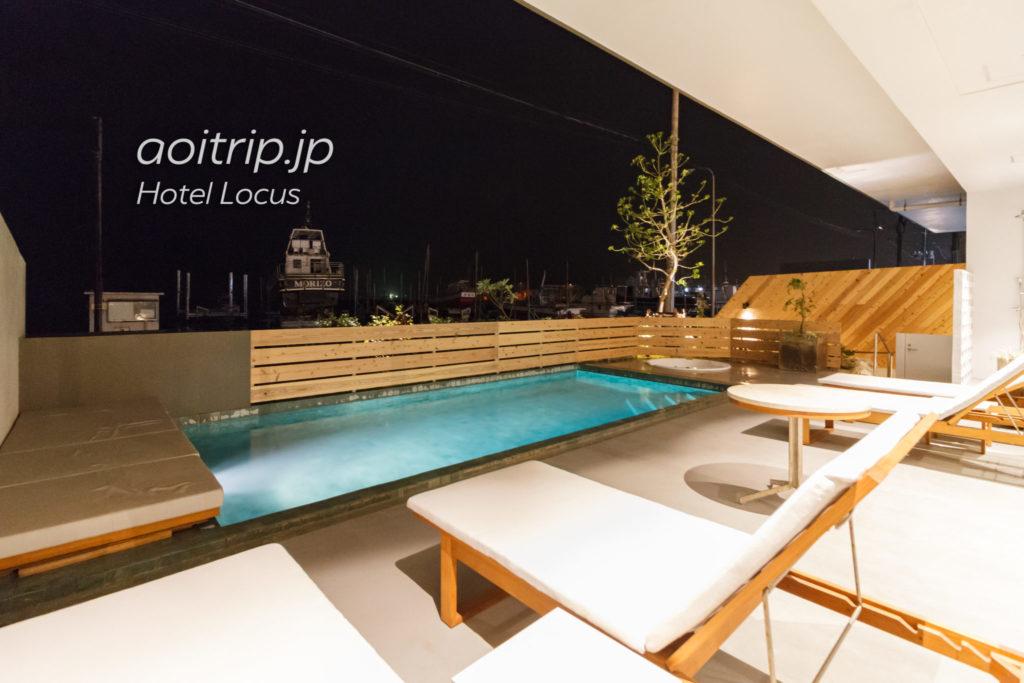 ホテルローカス宮古島のプール
