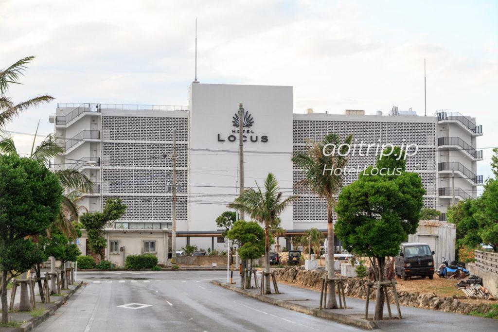 ホテルローカス宮古島の外観