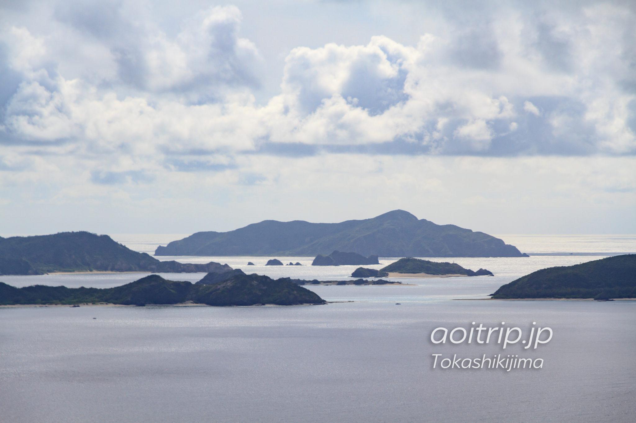 渡嘉敷島 赤間山展望台