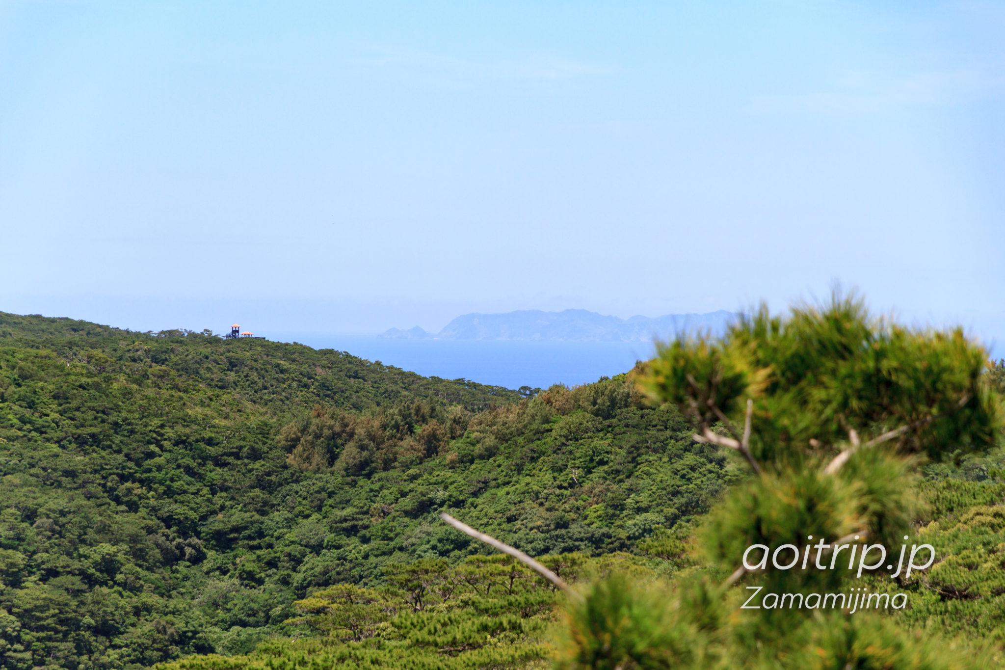 座間味島の高月山展望台