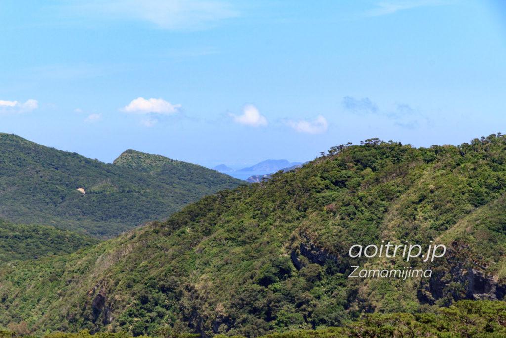 座間味島の稲崎展望台