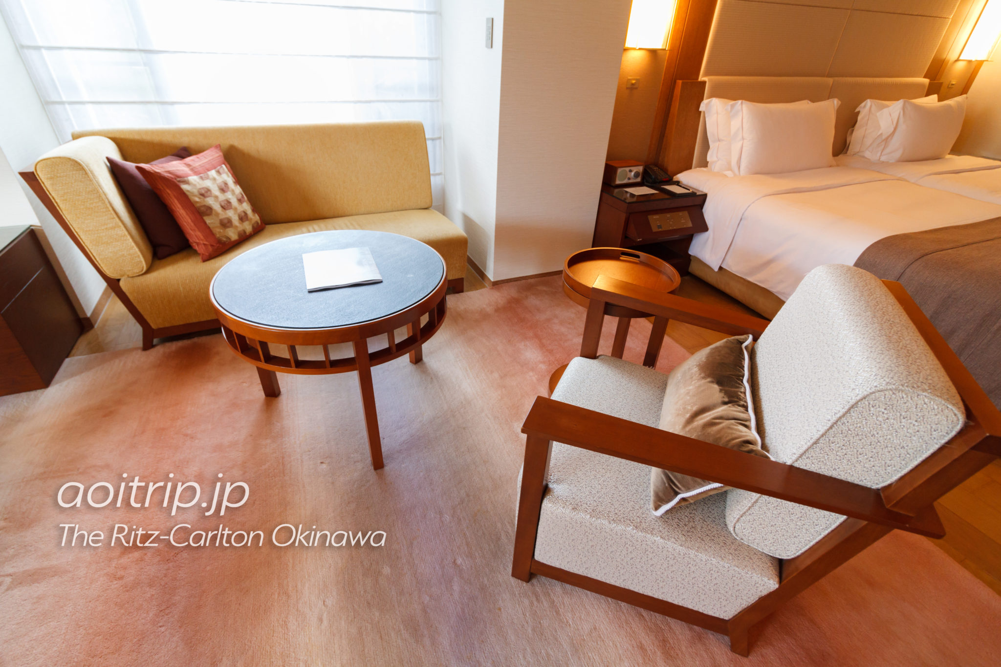 ザリッツカールトン沖縄の客室