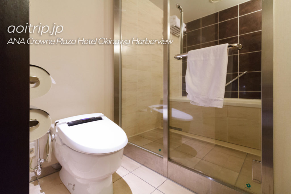 ANAクラウンプラザホテル沖縄ハーバービューのバスルーム
