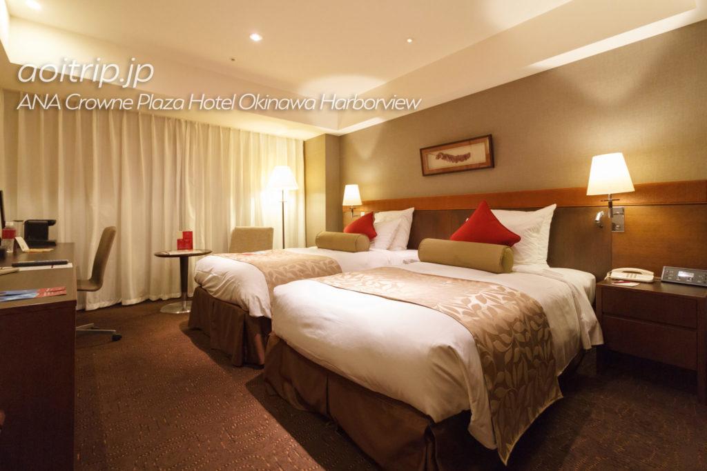ANAクラウンプラザホテル沖縄ハーバービューのクラブスーペリアツイン