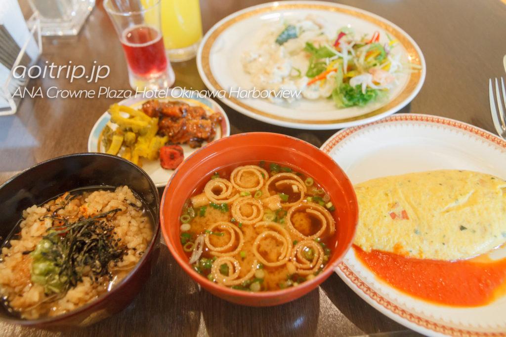 ANAクラウンプラザホテル沖縄ハーバービューの朝食