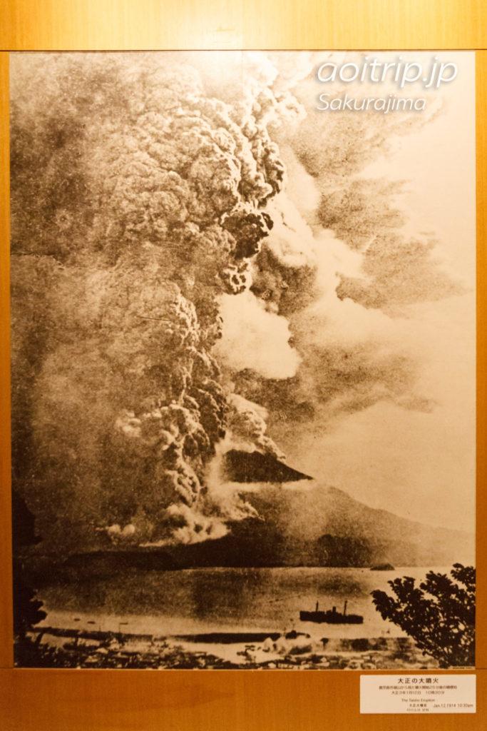 桜島 大正の大噴火