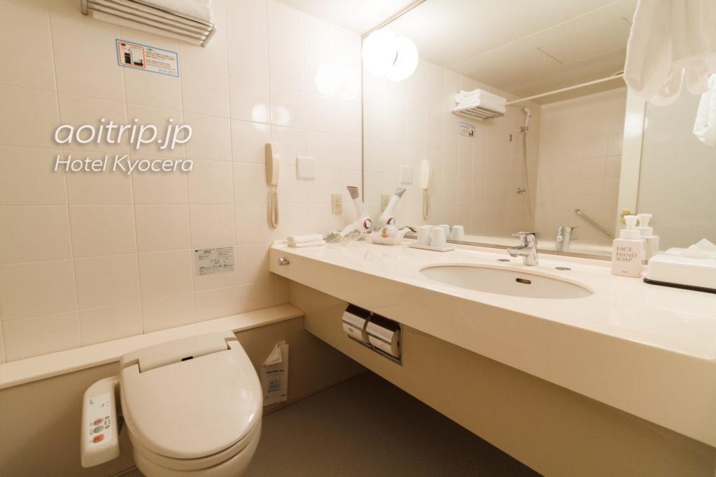 ホテル京セラのバスルーム