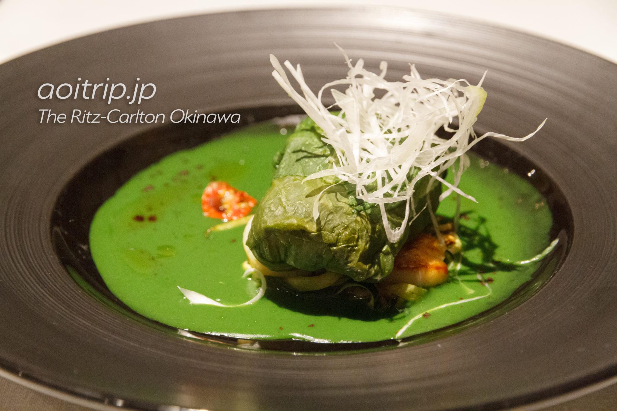 沖縄県産鮮魚のアクアパッツァ