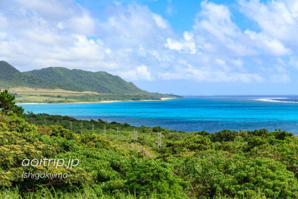 石垣島の玉取崎展望台からの眺め