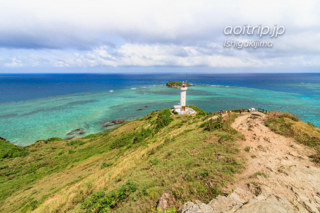 石垣島の平久保崎灯台