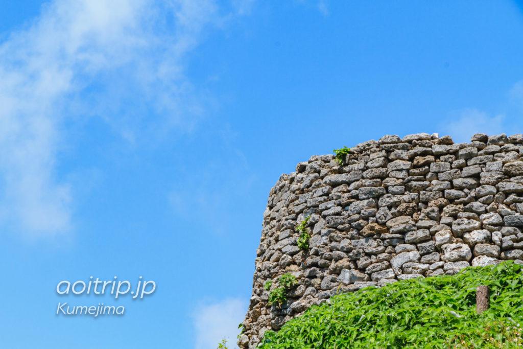 久米島の具志川城跡
