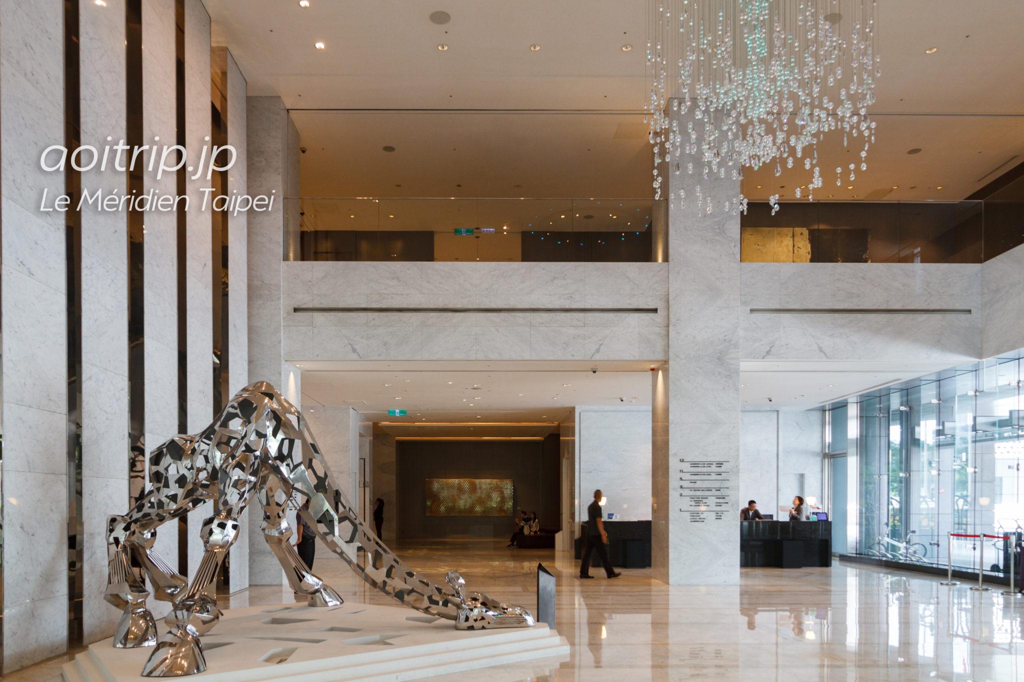 ルメリディアン台北のホテルロビー