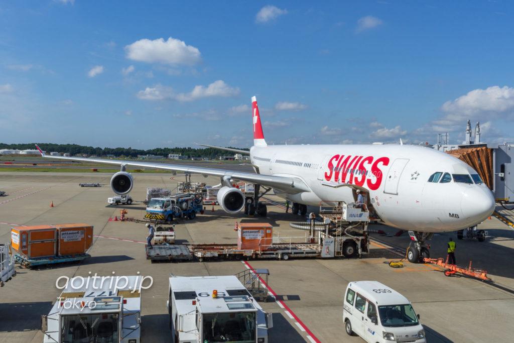 スイス航空LX161便 エアバスA340-300