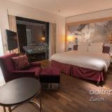 ルネッサンス チューリッヒ タワーホテルのジュニアスイート客室