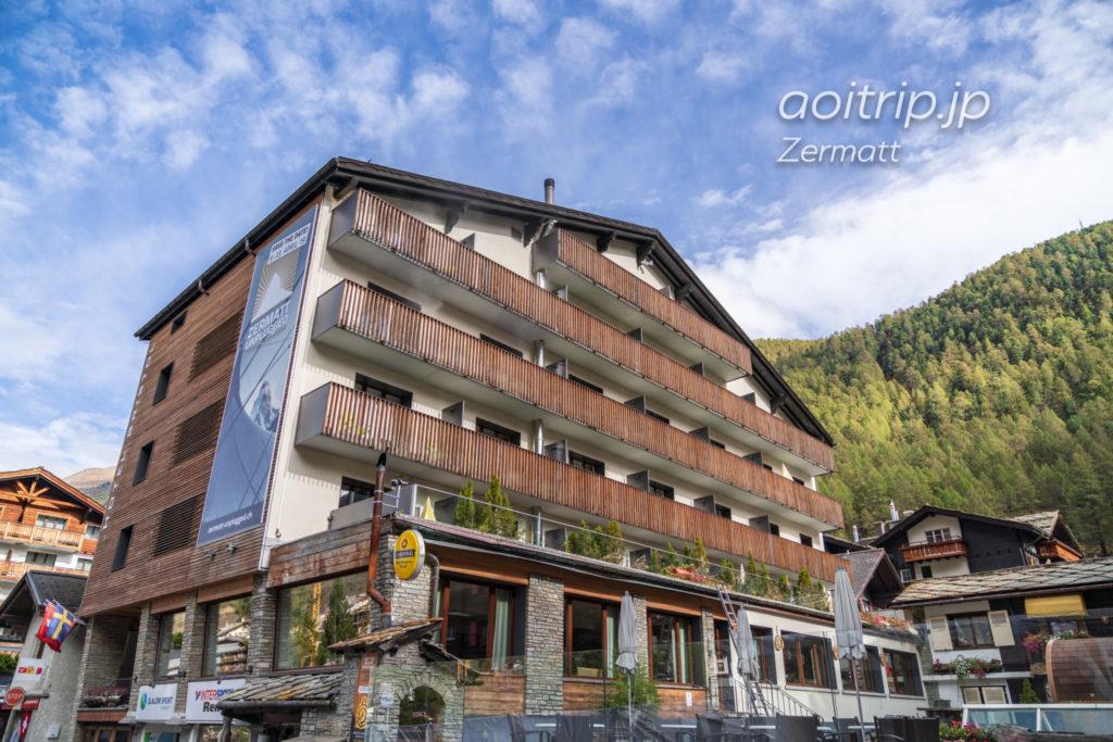 ホテル ブリストル スイス ツェルマットの外観