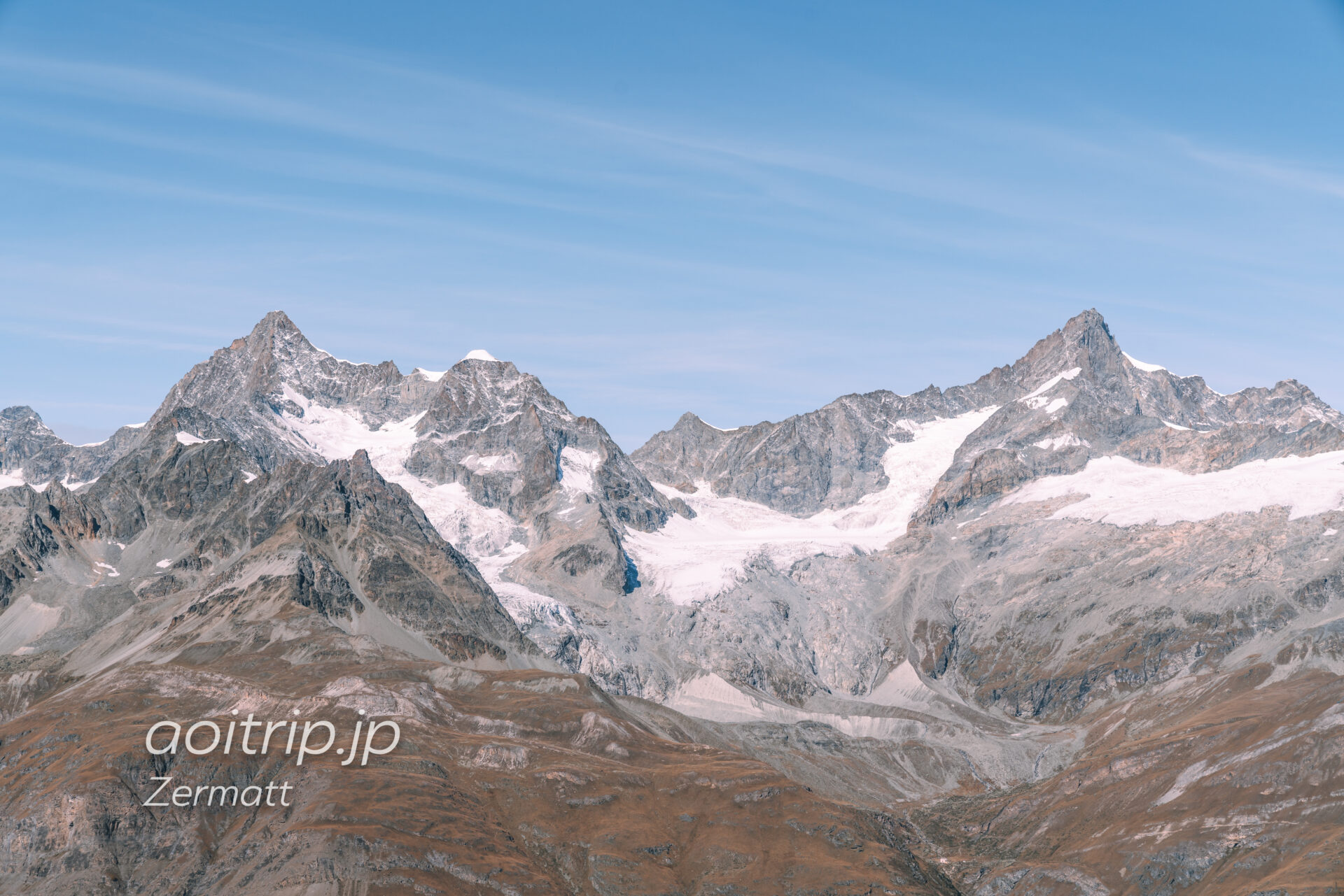 ゴルナーグラートのハイキング